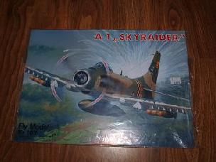 Modele papierowe A1 SKYRAIDER (FLY-107)