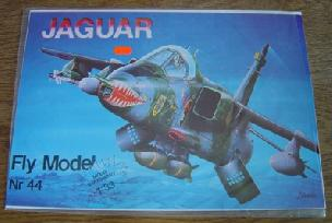 Modele papierowe Jaguar  (FLY MODEL-44)