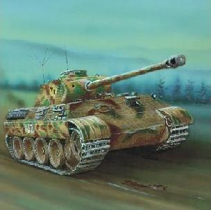 Modele papierowe PzKpfw V Ausf. A  Panther