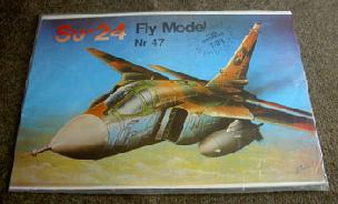 Modele papierowe Su-24  (FLY MODEL-47)