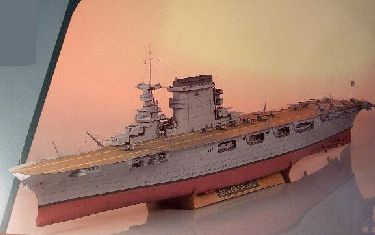 Modele papierowe USS Lexington