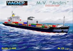 Modele papierowe M.V. Andes - (e-model 1:400 scale)