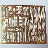 Modele papierowe Trapy (fototrawione) - Gangways (photo etch) - Japan Fleet ( 1:200 ) No.02